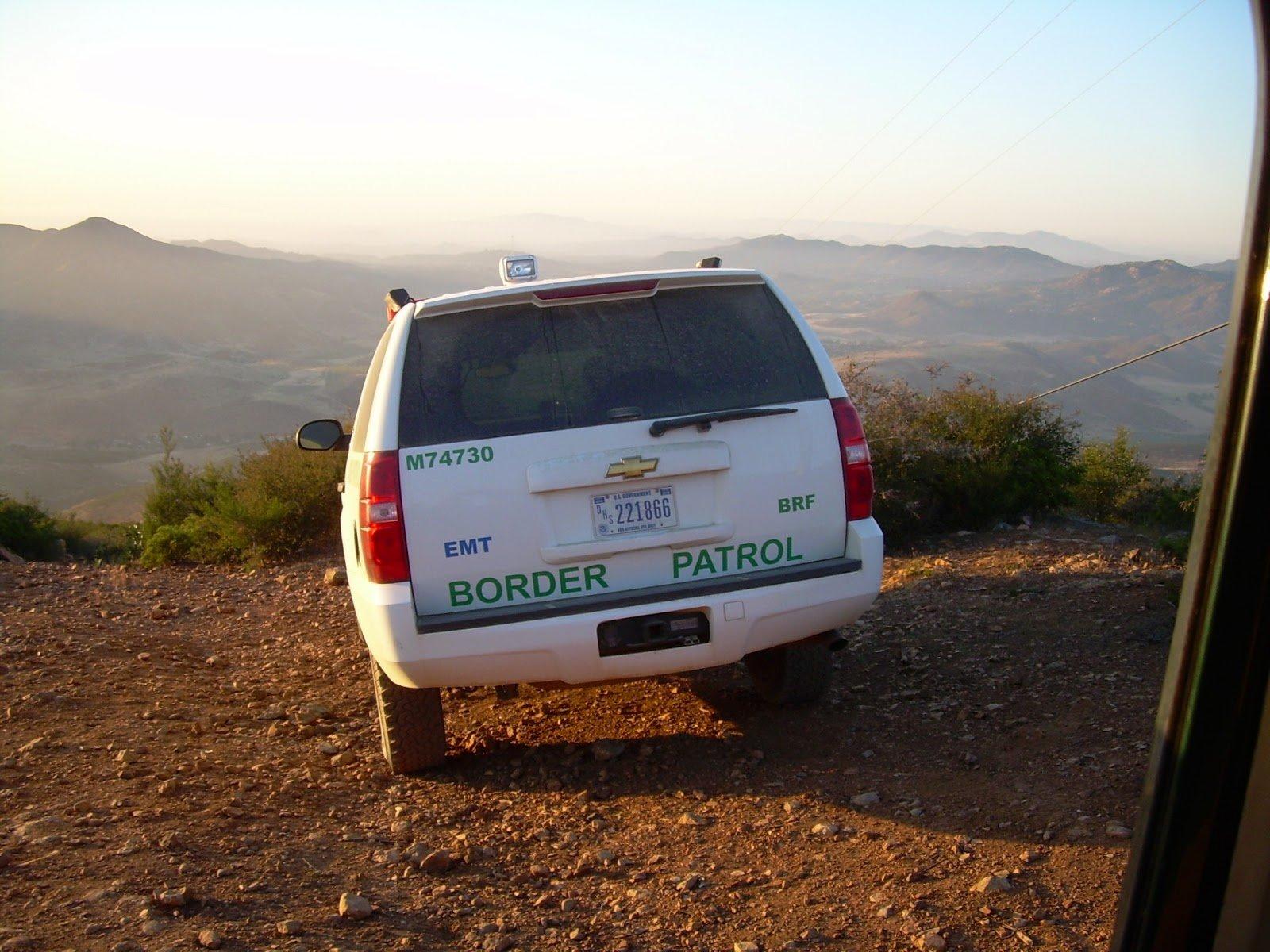 Border Patrol accident with civilian